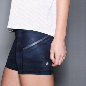 Lululemon What The Sport Short in Mini Coast Camo